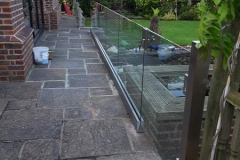 Outdoor Glass Balustrades