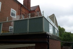 Outdoor Glass Balustrade