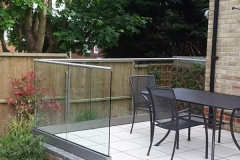 Patio Area Balustrade