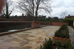 Outdoor Patio Area Balustrade