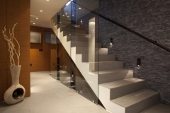 Glass Stair Balustrade