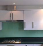 Aqua Green Glass Splashback