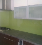 Mint Green Glass Splashback