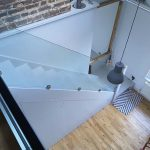 Floating Glass Stair Balustrades
