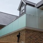 Frosted Balcony Balustrades