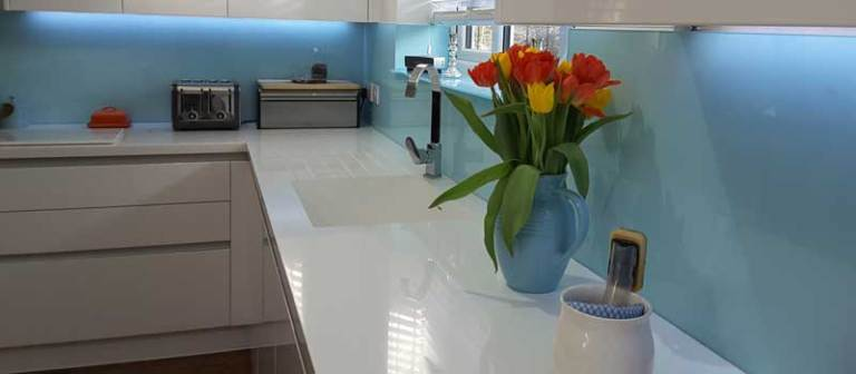Glass Splashbacks In Folkestone