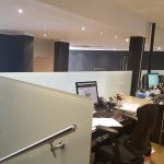 Frosted Office Glass Balustrades
