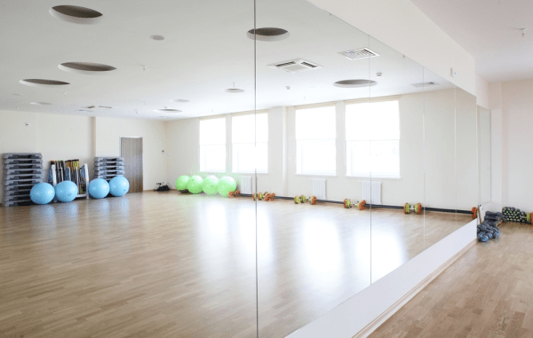 Mirror Glass For Gyms and Studios