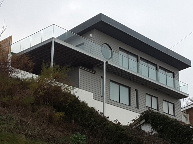 Bespoke Glass Balustrades Fitted In Folkestone